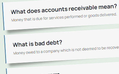 Credit and Collections glossary